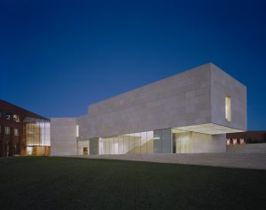 Outside View of Nerman at Night